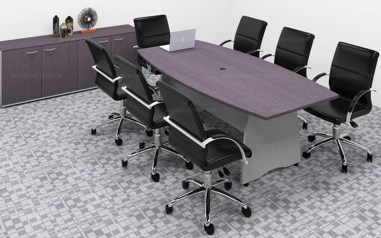 mesa de juntas de trabajo en melamina