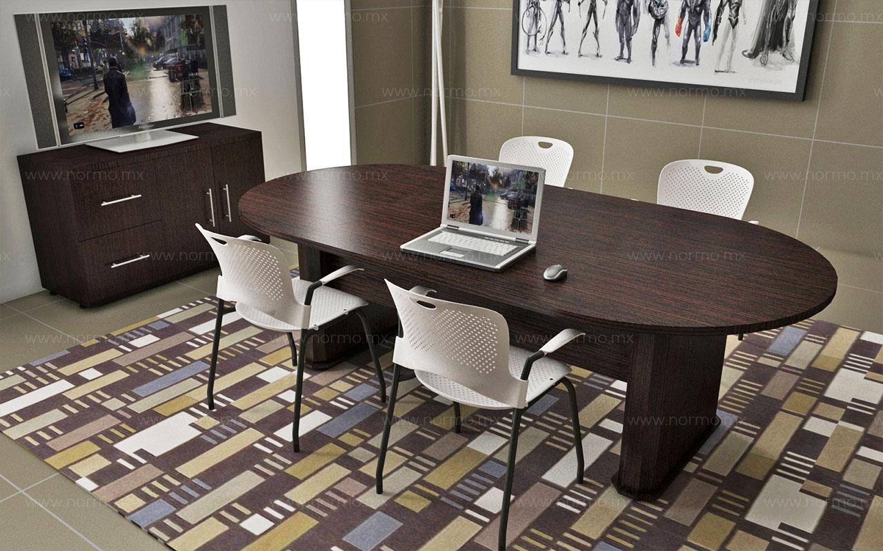 mesa de trabajo juntas oficina