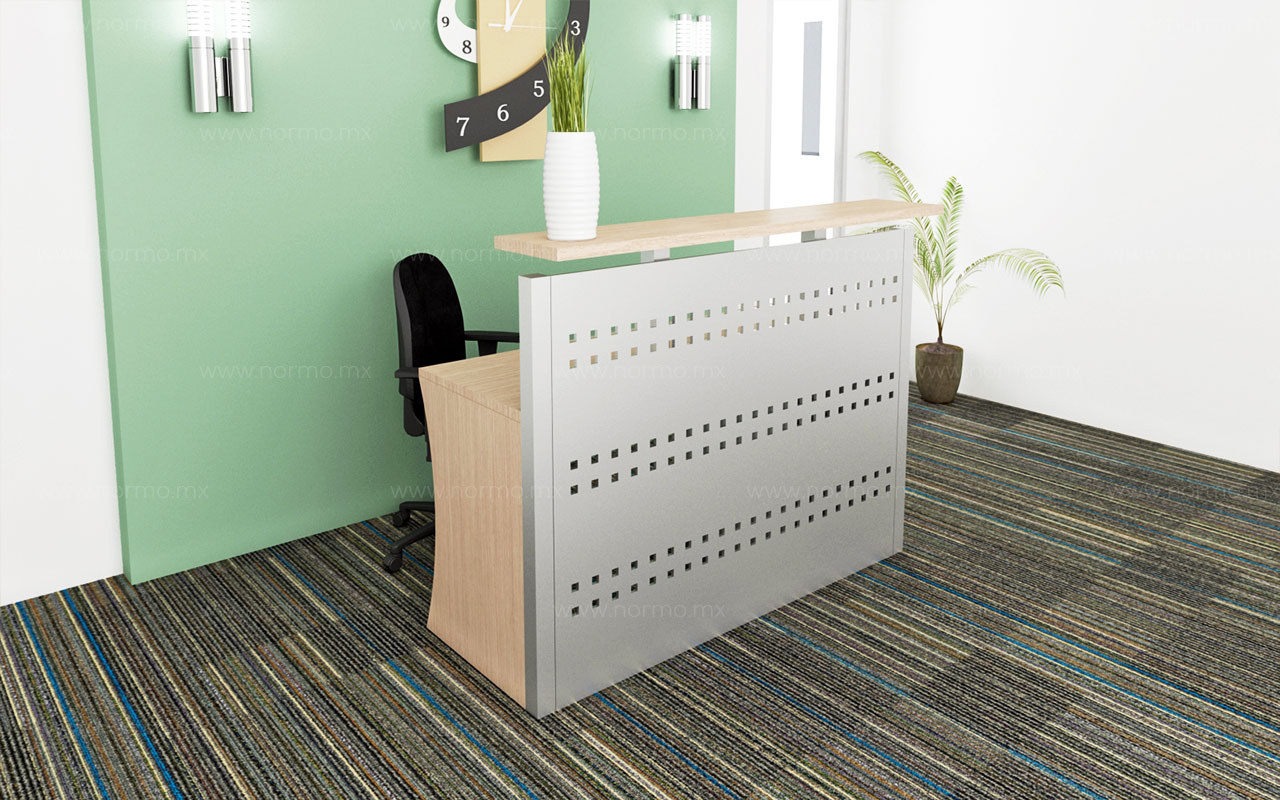 recepción muebles de oficina