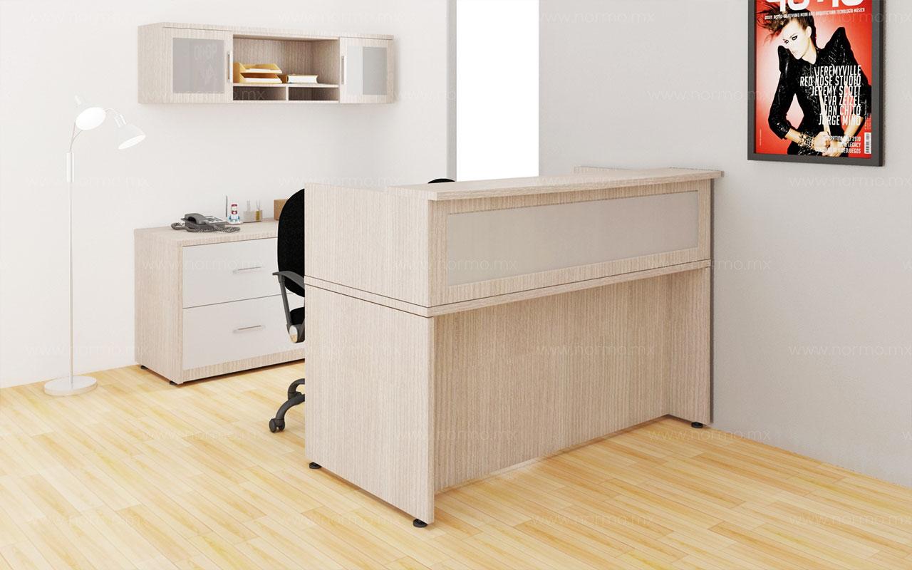 recepcion muebles oficina en melamina